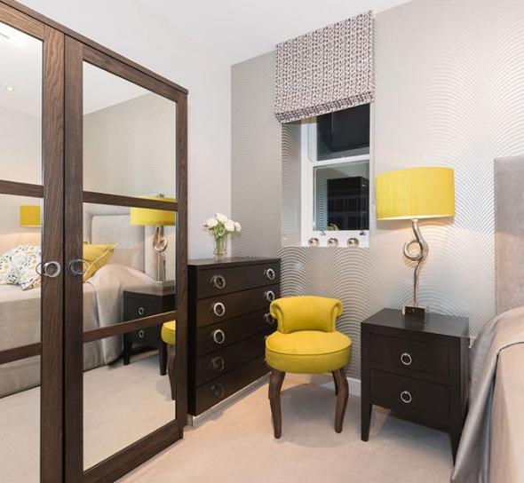 Мебель для спальни в цвете венге