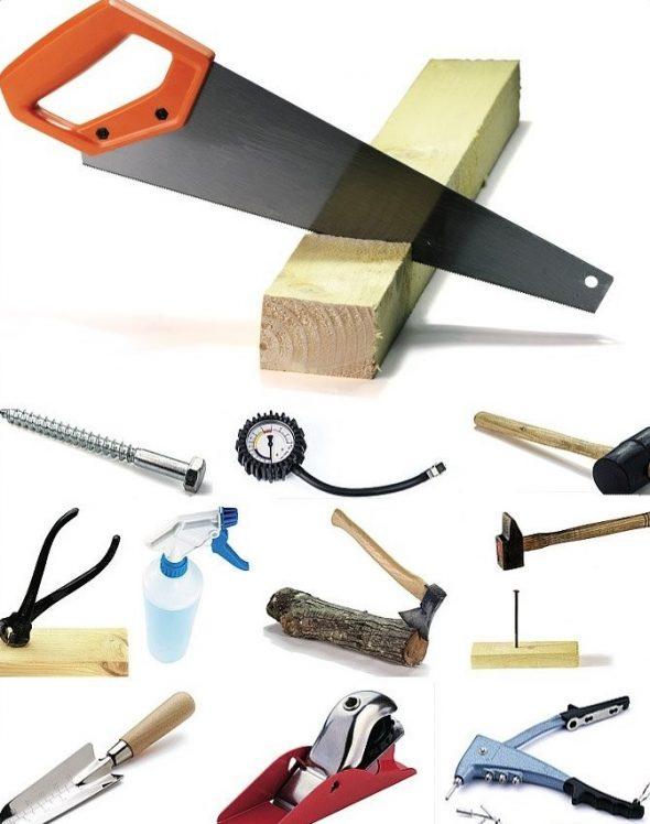Инструменты для ремонта шиферной крыши