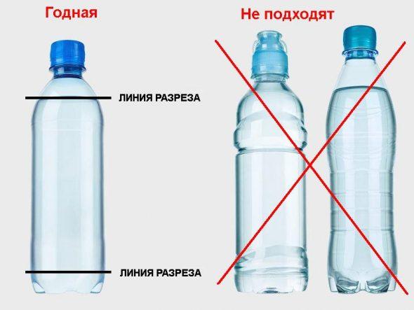 Выбор бутылок