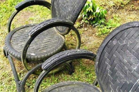 Садовые стулья своими руками