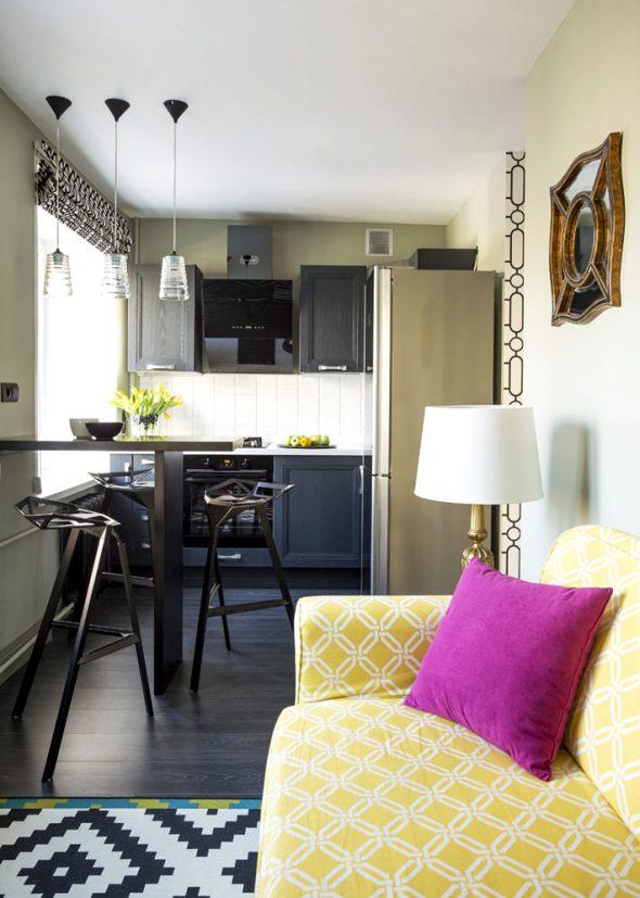 Кухня и зона отдыха