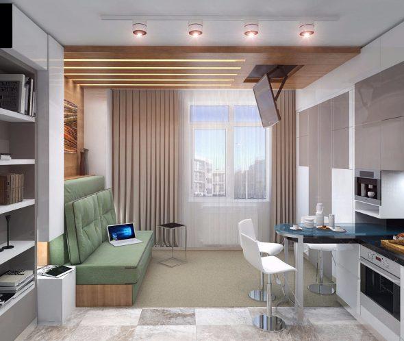Компактная мебель в квартире