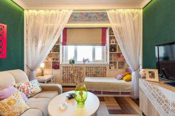 Комната в однокомнатной квартире
