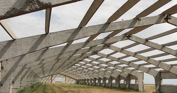 Железобетонные стропильные фермы