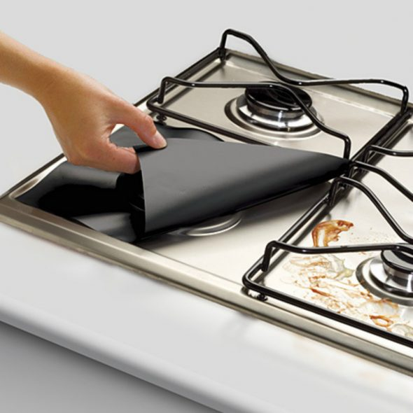 Защита от жира для плиты