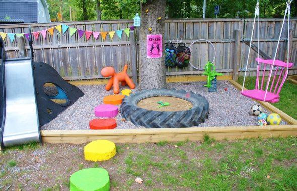 Детская зона для игр
