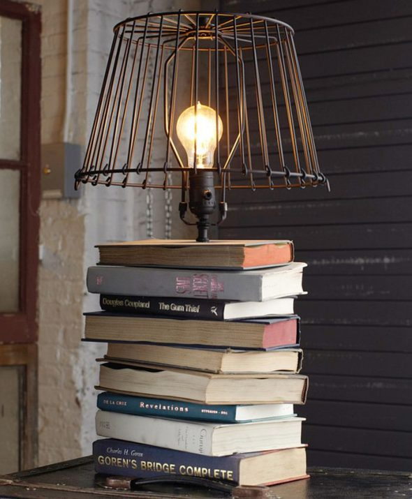 светильник в стиле лофт своими руками