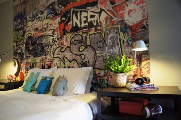 Оформление граффити