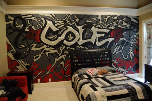 Необычный дизайн комнаты для подростка