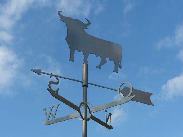 флюгер бык