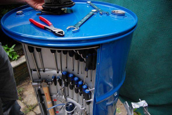 кейс для инструментов из бочки 200 литров