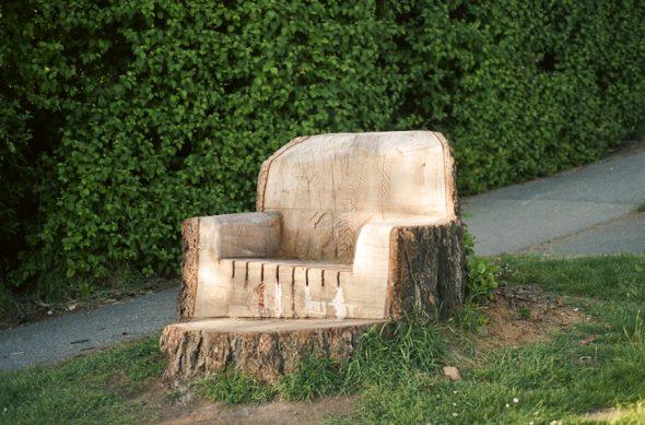 Пень-кресло