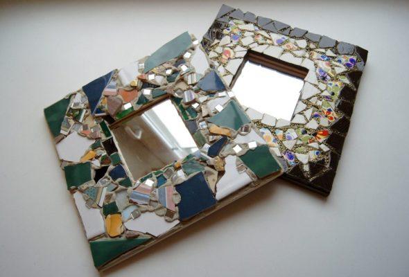 как отреставрировать старое зеркало своими руками