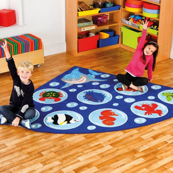 Мягкое покрытие детской комнаты