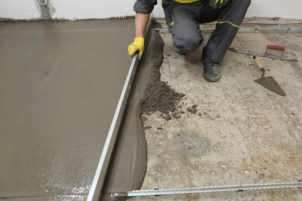как ускорить твердение бетона