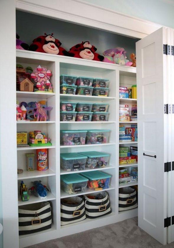 Шкаф для хранения игрушек