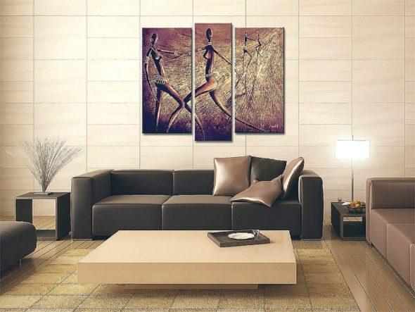Картина в африканском стиле