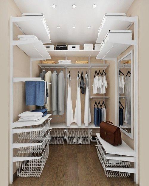 Мини гардеробные своими руками: практичность и удобство