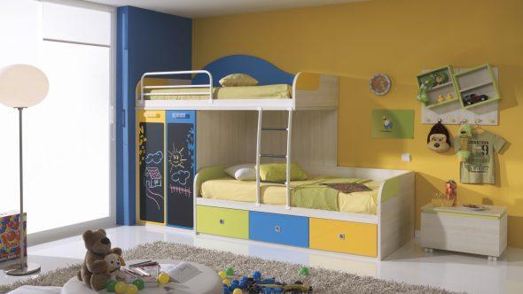 Вариант кровати Z-образной формы