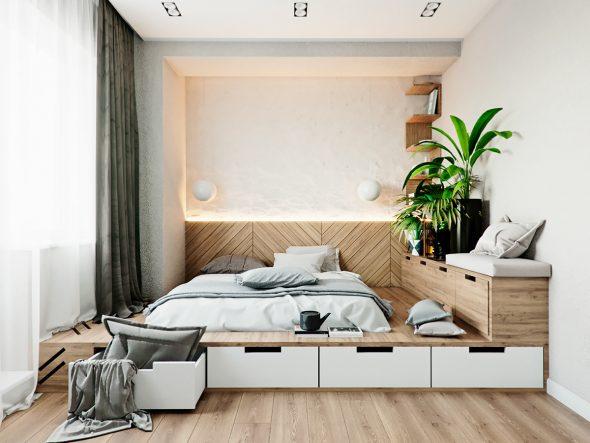 Подиум в спальне