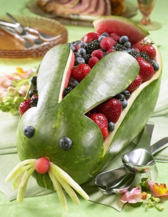 Арбузно-ягодный кролик