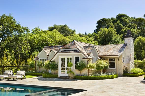 Одноэтажный дом в стиле прованс