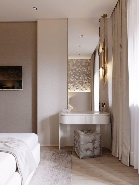 Туалетный столик в спальне