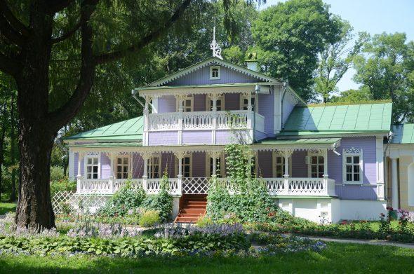 Восстановленный дом И.С. Тургенева