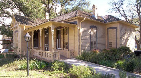 Дом-музей писателя в Техасе