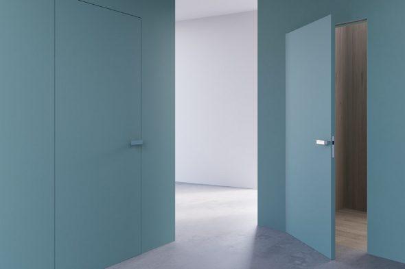 Двери без наличников в интерьере