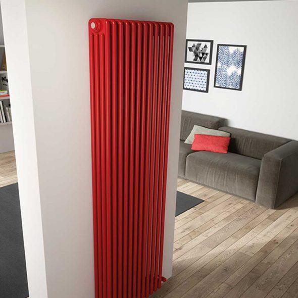 Настенный вертикальный радиатор