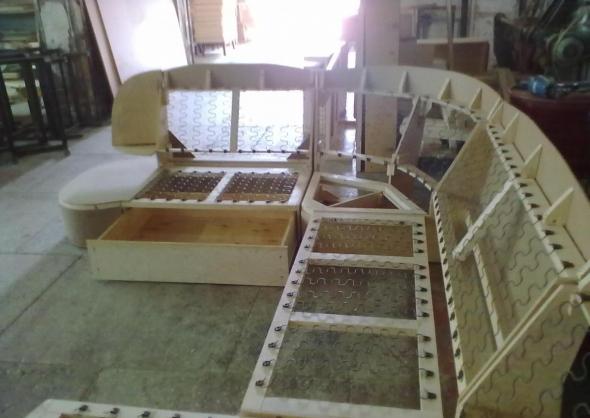 Каркас углового дивана