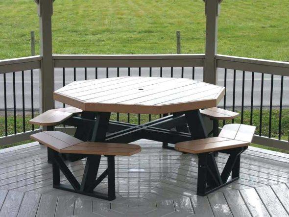 Металлический столик Daytona Beach и стулья