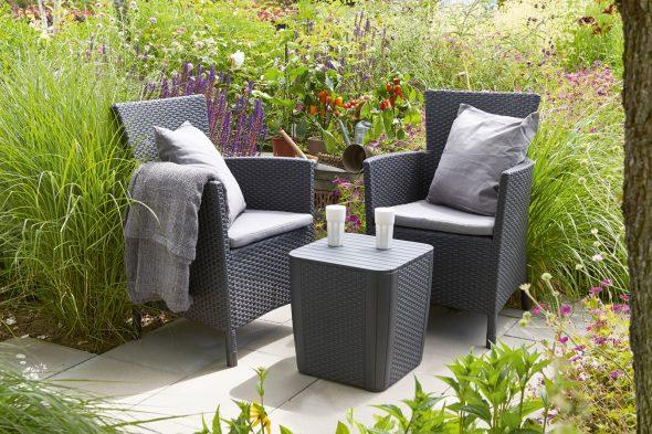 Пластиковая садовая мебель Kefer