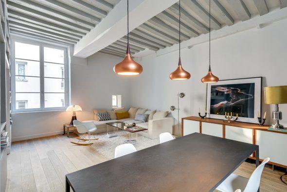 Светлая квартира в скандинавском стиле