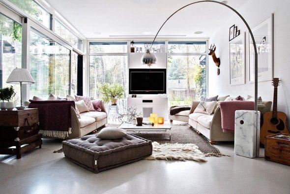 Интерьер дома в шведском стиле