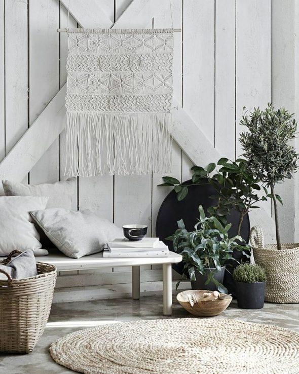Нордический бохо декор