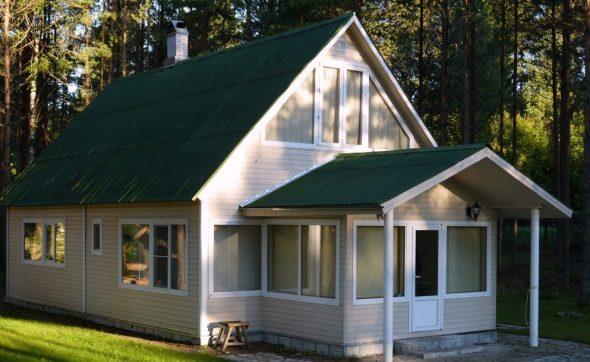 Недорогой дом для постоянного проживания