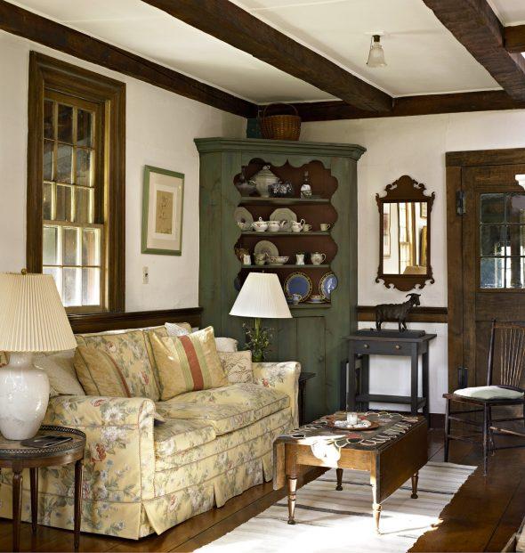 Гостиная мебель в стиле Кантри