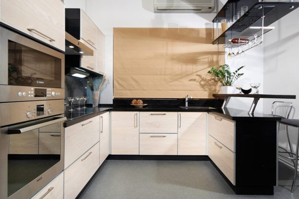П-образная кухня