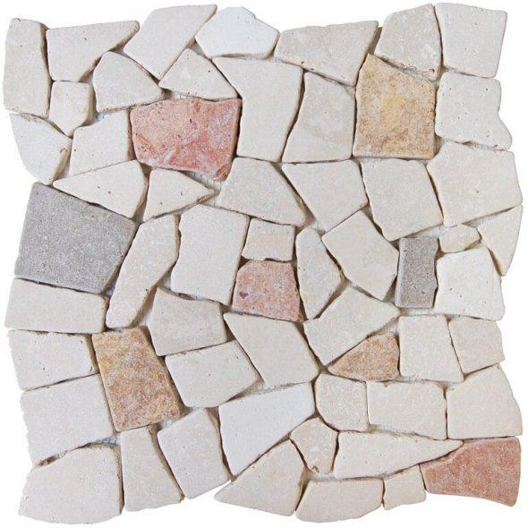 Мозаика из камней неправильной формы