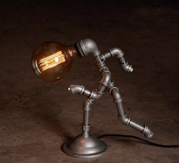 Лампа в стиле Industrial