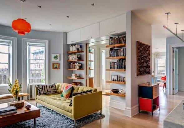 Декор интерьера в стиле 60-х