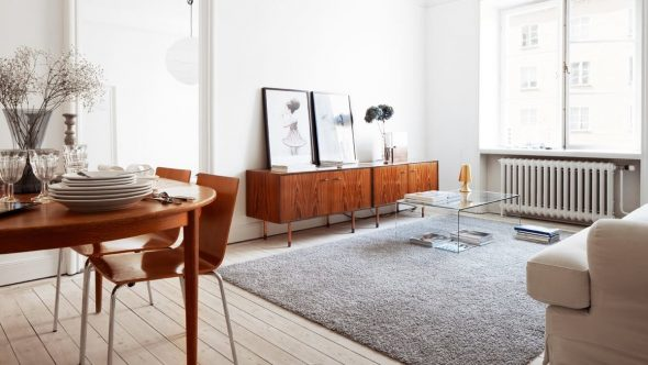 Ретро и минимализм в интерьере