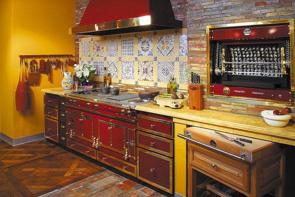 Кухонный гарнитур в стиле ретро