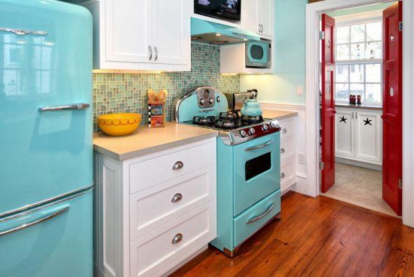 Холодильник SMEG в ретродизайне