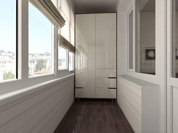Маленький балкон