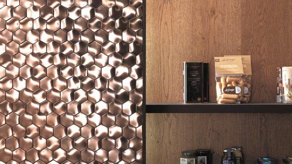 Мозаика из металла