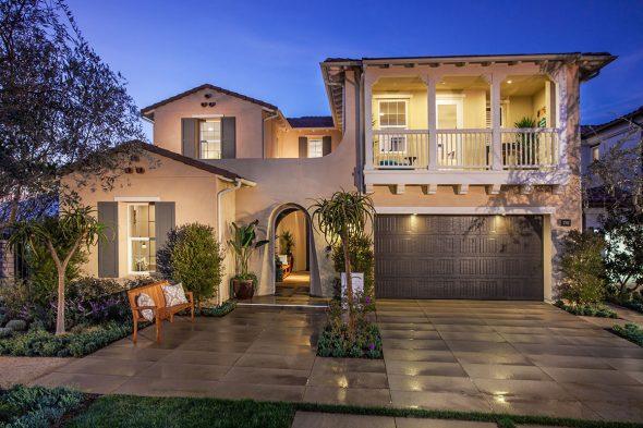 Двухэтажный дом в Калифорнии