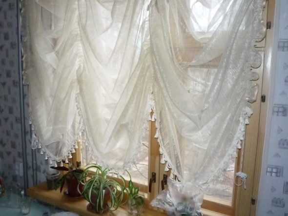 Декор тюля